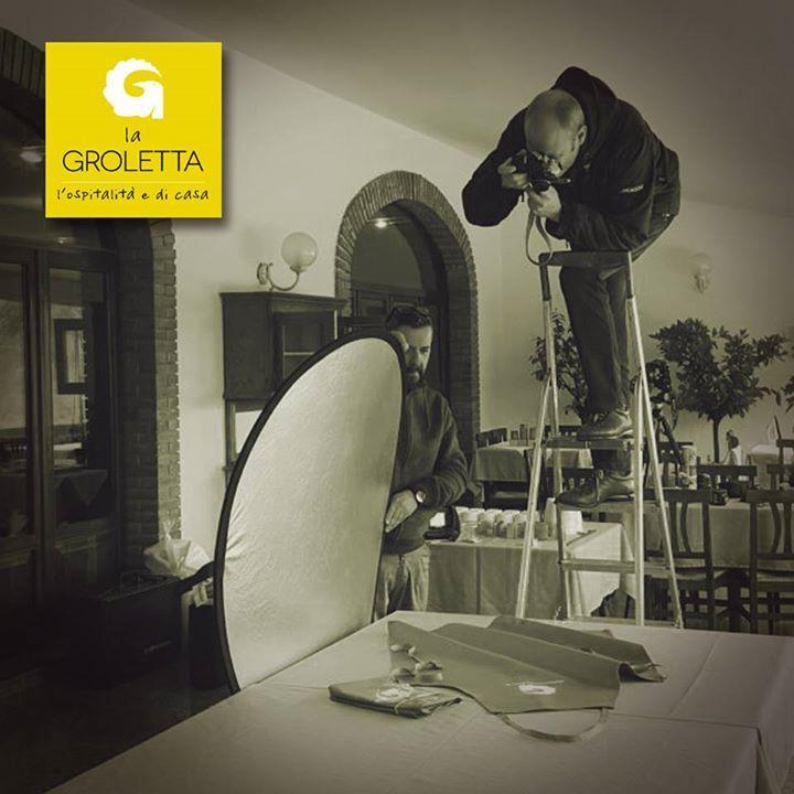 Shooting a La Groletta!   #GiampaoloMascalzoni  #TheIntrepidi  www.ristorantelag...