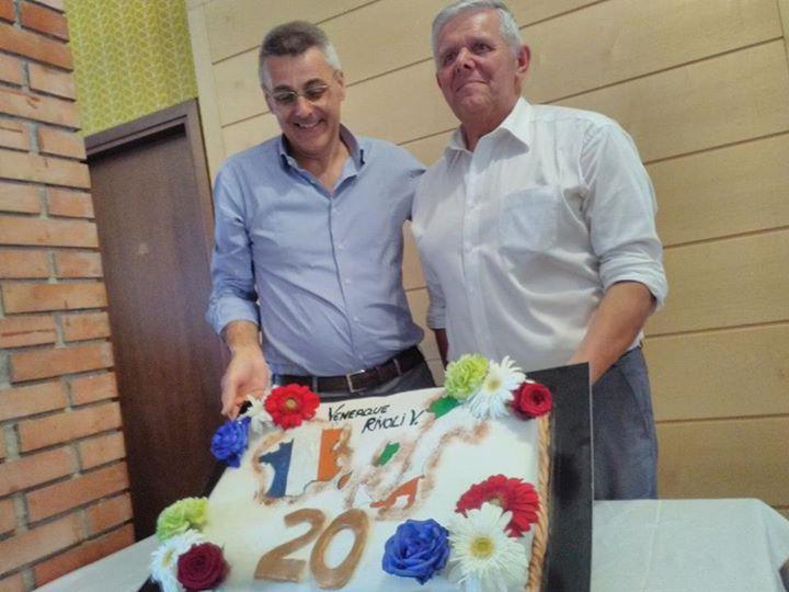 Oggi pranzo per il 20° anniversario di gemellaggio  tra il comune di Rivoli Vero...