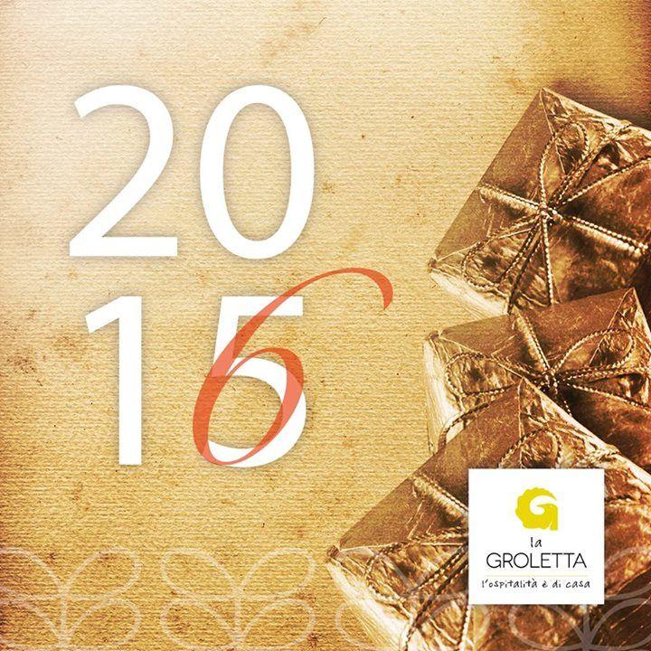 RICOMINCIAMO DALLA FINE  Buon 2016, un altro anno con la Groletta.  #2016  #LaGr...
