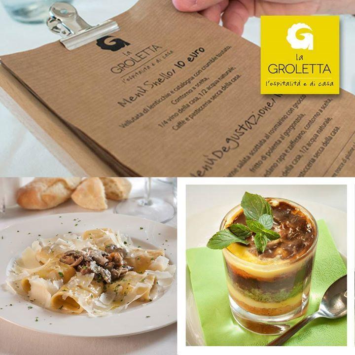 LA GROLETTA ENTRA IN AZIENDA! Scoprite i nostri menù creati ad hoc per le vostre...