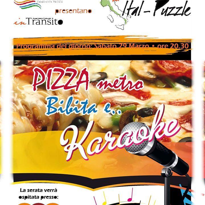 Serata KaraoKe e Pizza