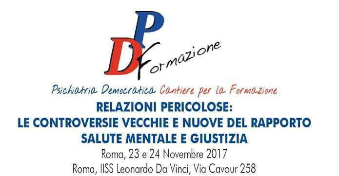 Domani saremo presenti dai nostri amici di Psichiatria Democratica a Roma, come ...