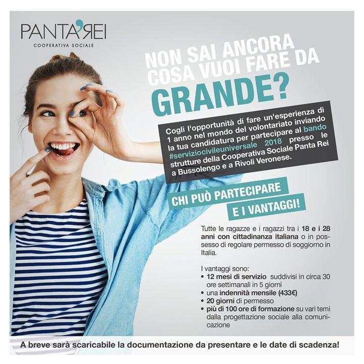 #serviziocivileuniversale   #comunquevadaPantaRei