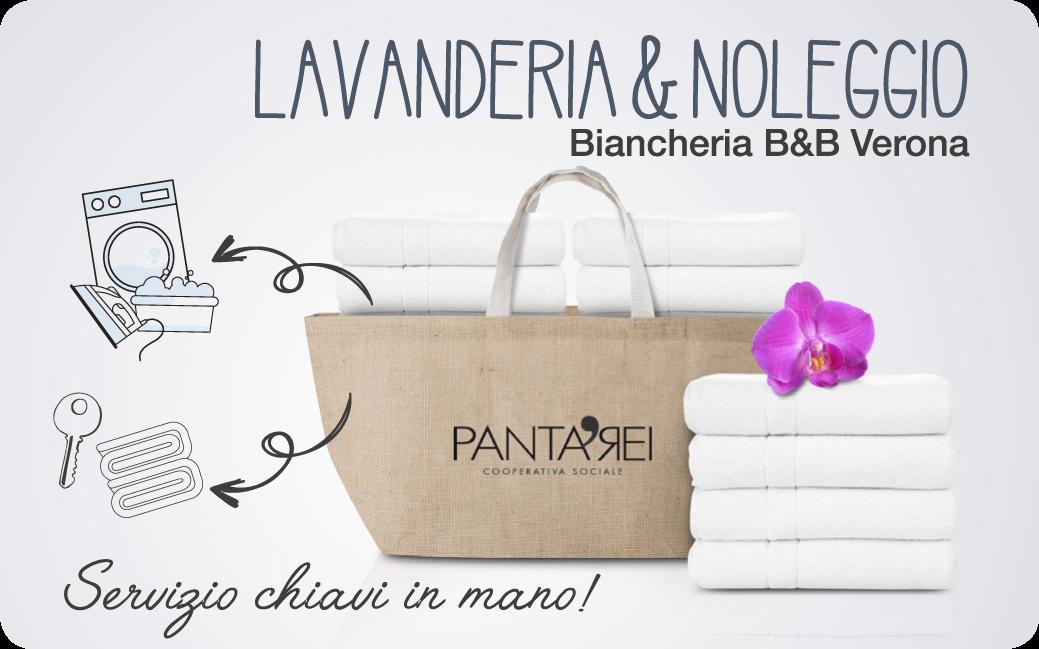 Lavanderia e noleggio biancheria B&B  Verona
