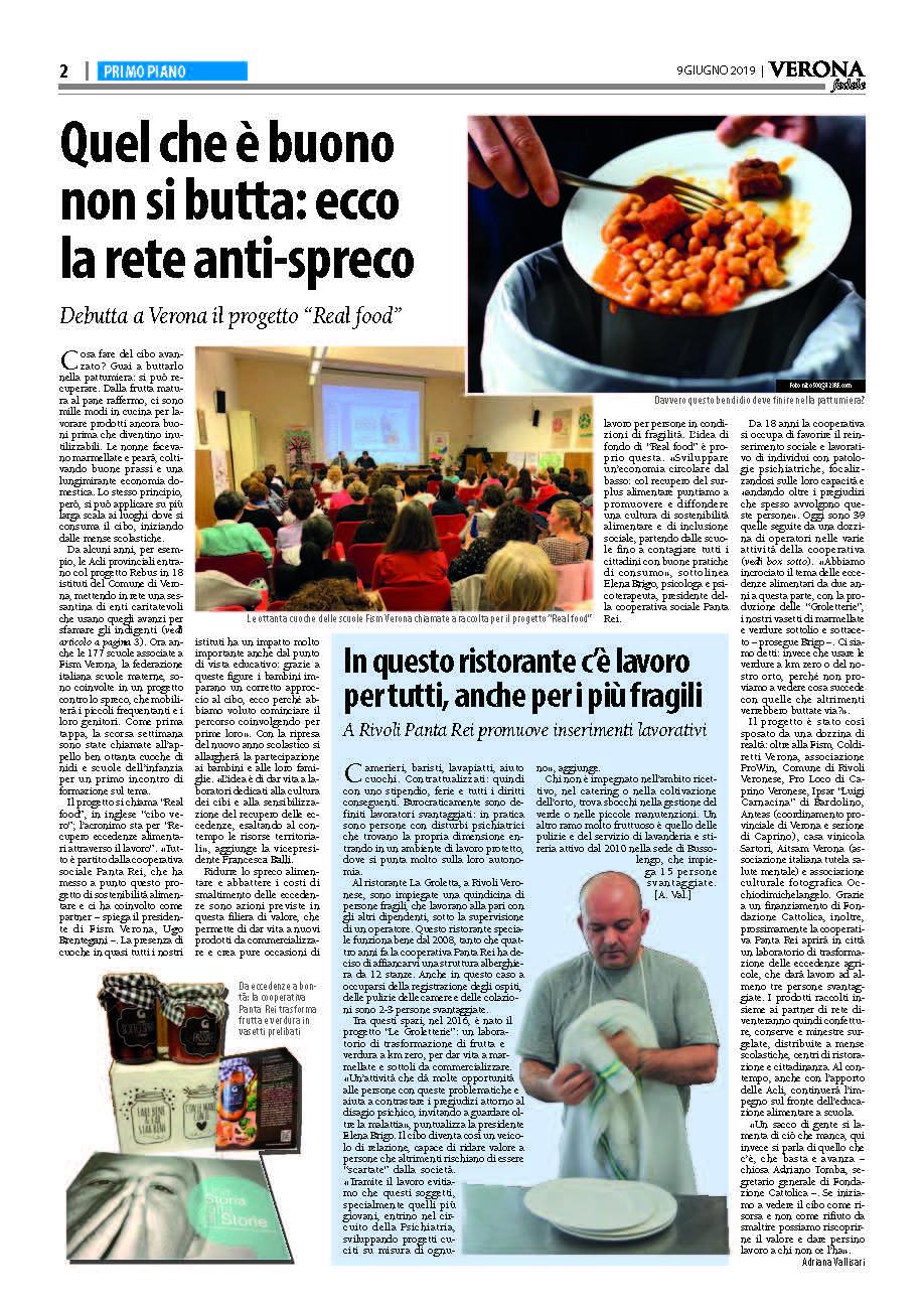 Verona Fedele Real Food