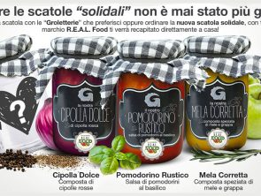 Nuove Scatole Solidali Le Groletterie REAL Food